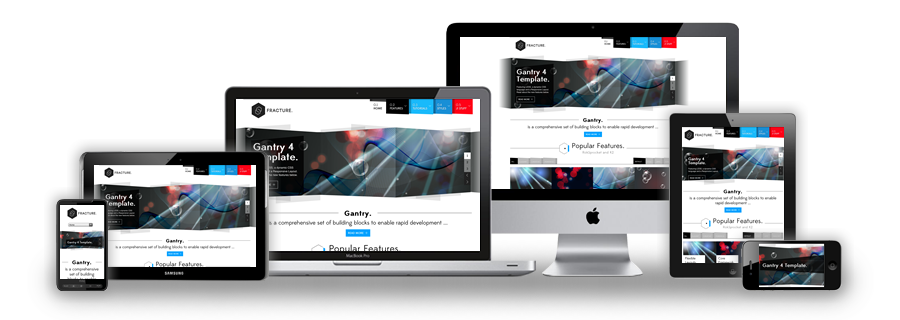 how to make responsive website without media queries